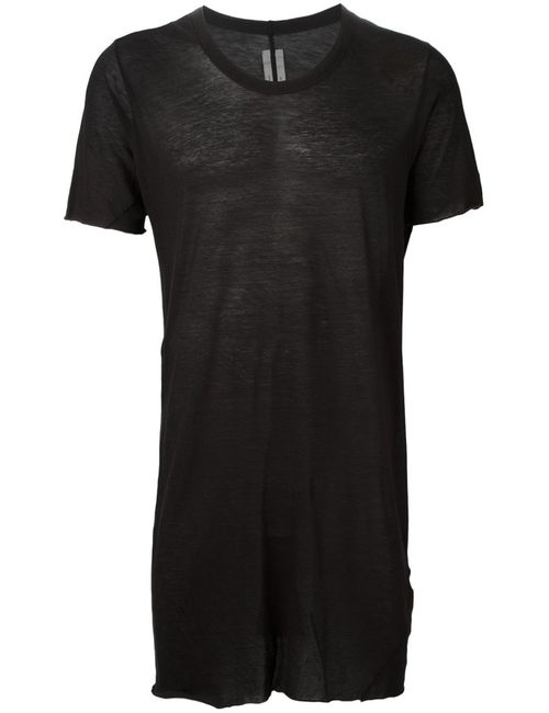 Rick Owens | Мужское Cotton Draped T-Shirt From Featuring A Round