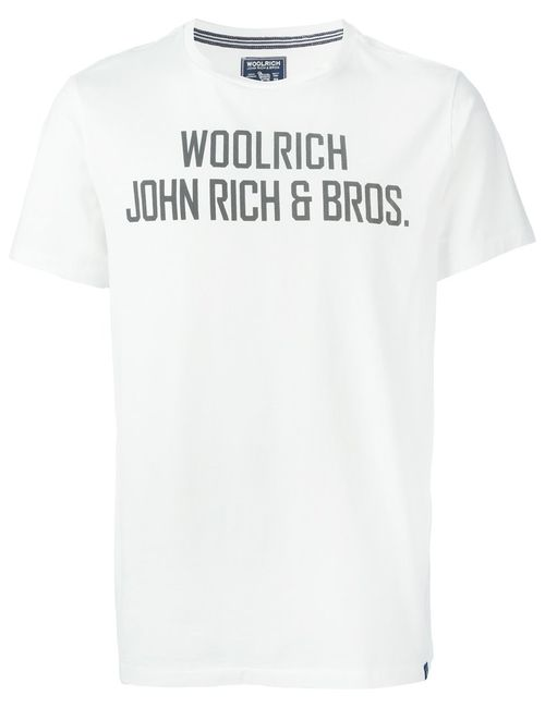 Woolrich | Мужское Cotton Print T-Shirt From