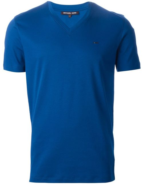 Michael Kors | Мужское Cotton V-Neck T-Shirt From