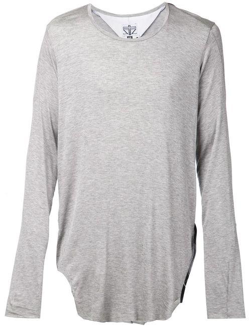 ZAM BARRETT | Мужское Серый Long Sleeved T-Shirt