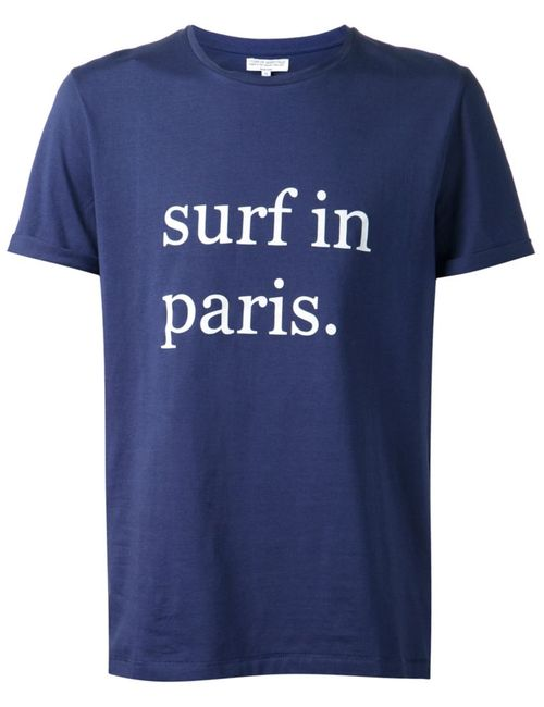 CUISSE DE GRENOUILLE | Мужское And Cotton Surf In Paris T-Shirt From
