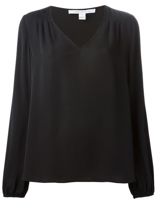Diane Von Furstenberg | Женское Silk Oversized Top From