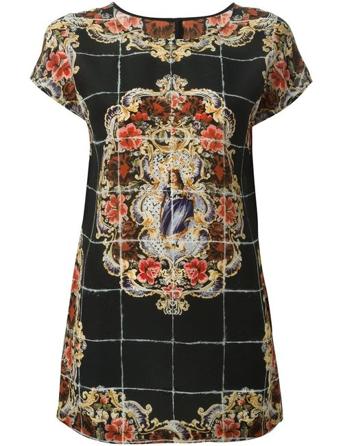 Dolce & Gabbana   Женский Чёрный Топ Majolica