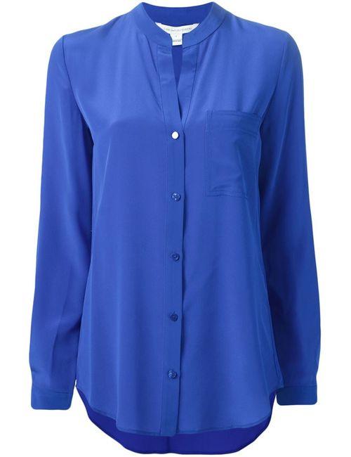 Diane Von Furstenberg | Женская Синяя Рубашка Gilmore