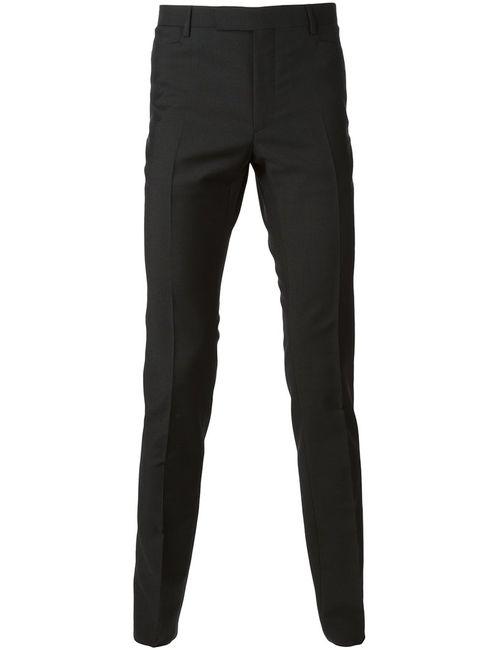 Lanvin | Мужское Чёрный Slim Fit Trousers