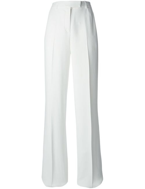 Emilio Pucci | Женское Белый High Waist Flared Trousers