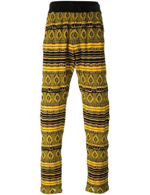 Nuur | Мужское Оранжевый And Cotton Knitted Trousers From