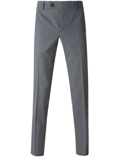 Brunello Cucinelli | Мужское Wool-Cotton Blend Chino Trousers From