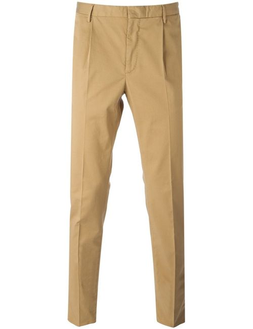 Incotex | Мужское Stretch Cotton Classic Slim Chinos From