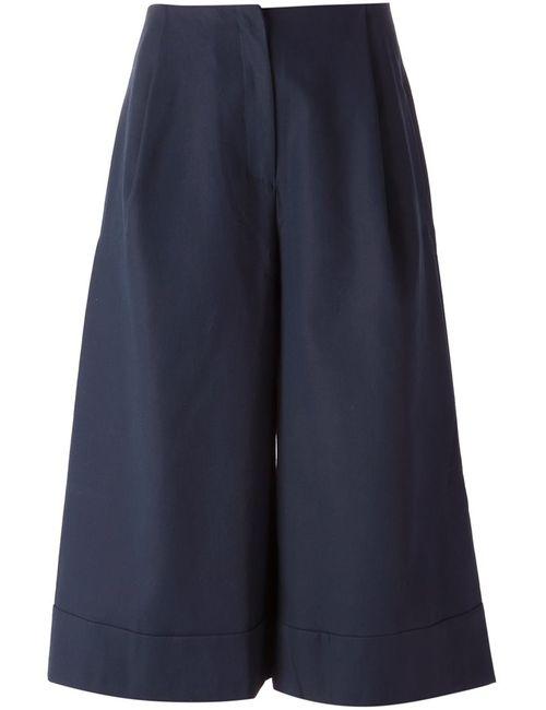 STUDIO NICHOLSON | Женское Navy Cotton Kiku Trousers From