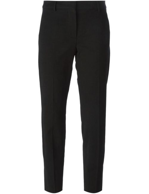 SportMax | Женское Чёрный Cropped Slim Fit Trousers From