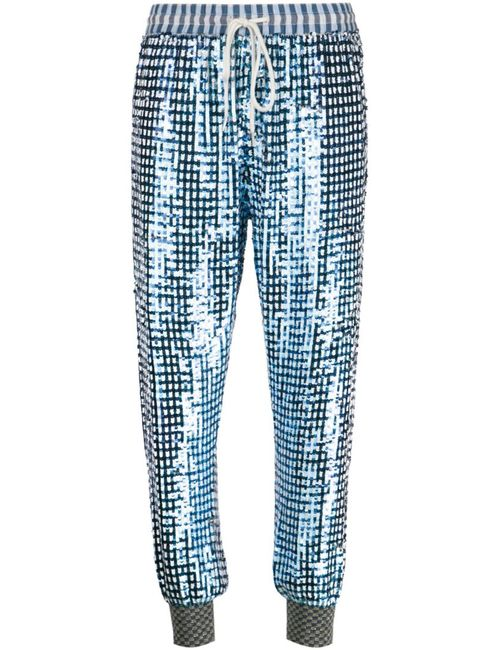 Ashish | Женское Cotton Sequined Cropped Trousers From