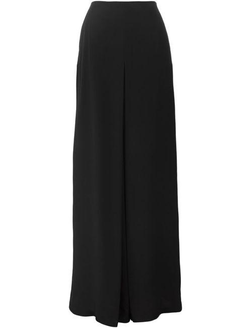 Costume National | Женские Чёрные Широкие Брюки