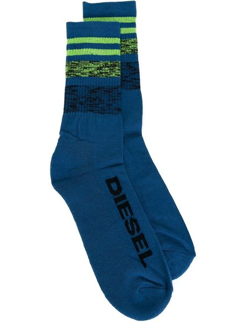 Diesel | Мужские Синие Полосатые Носки