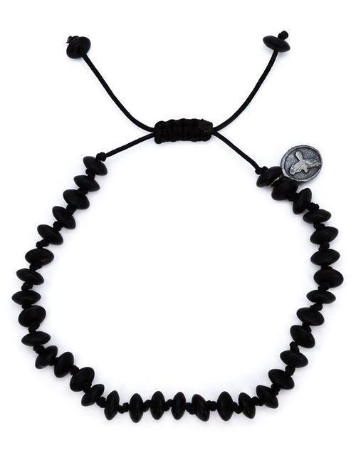 JOSEPH BROOKS | Мужское Чёрный Onyx Beaded Bracelet From