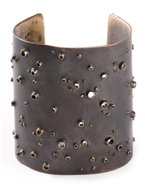 GASPARD HEX | Женское Коричневый Bronze Bubble Cuff From Featuring A Tarnished