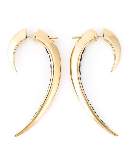 SHAUN LEANE | Женское Серебристый Plated Sterling Signature Tusk Spinel Earrings From