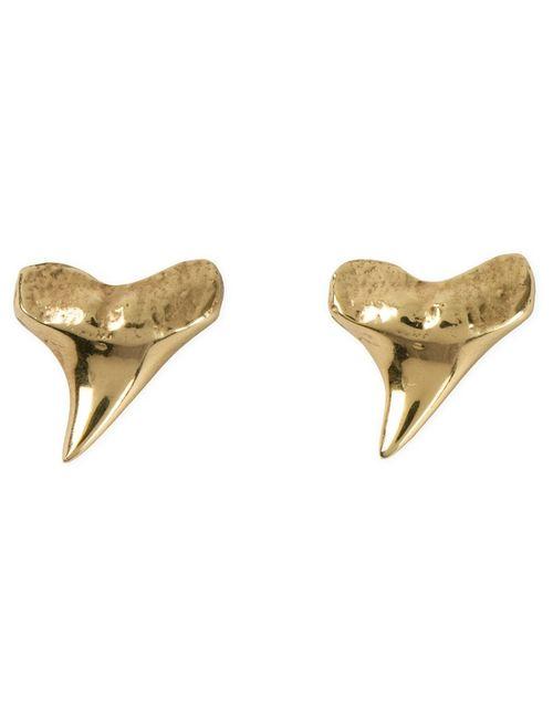 NEKTAR DE STAGNI | Женское Серебристый Shark Tooth Earrings