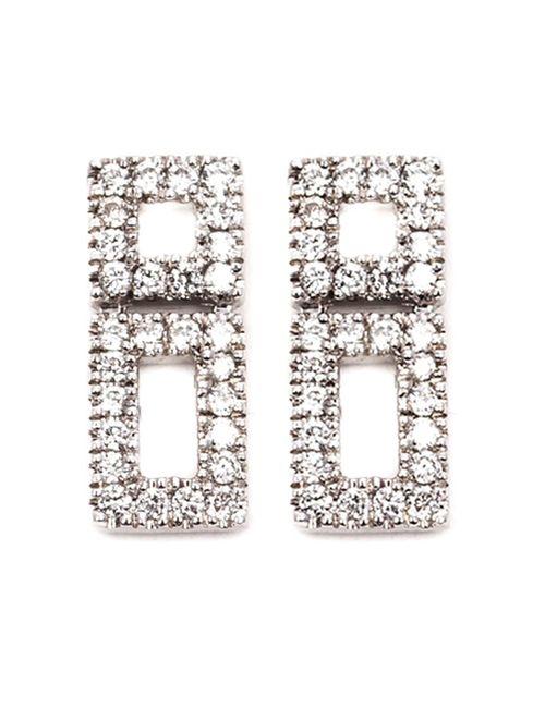DANA REBECCA | Женское Серебристый Allison Joy Earrings