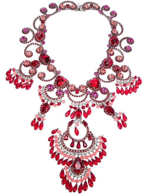 Rodrigo Otazu | Женское Серебристый Exquisite Couture Necklace From Featuring A Signature
