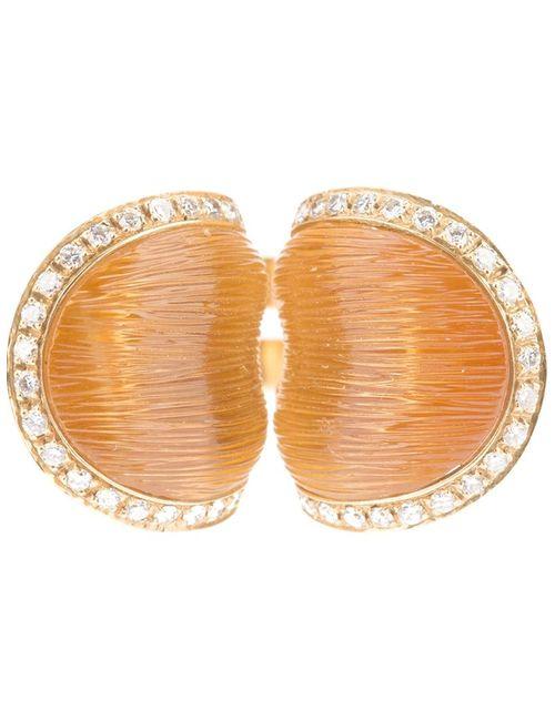 PASCIA   Женское Серебристый Citrine And Diamond Ring