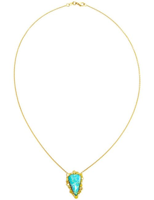 KIMBERLY MCDONALD | Женское Синий 18kt Opal Boulder Necklace