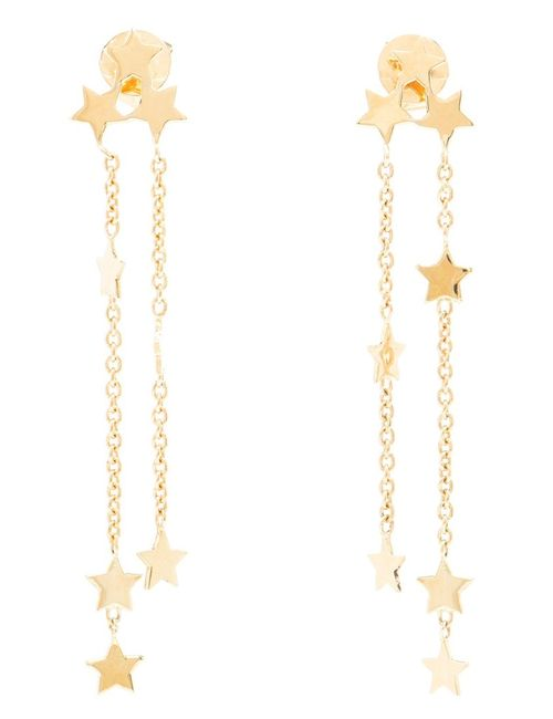 LUIS MIGUEL HOWARD | Женское Серебристый 18kt Star Earrings