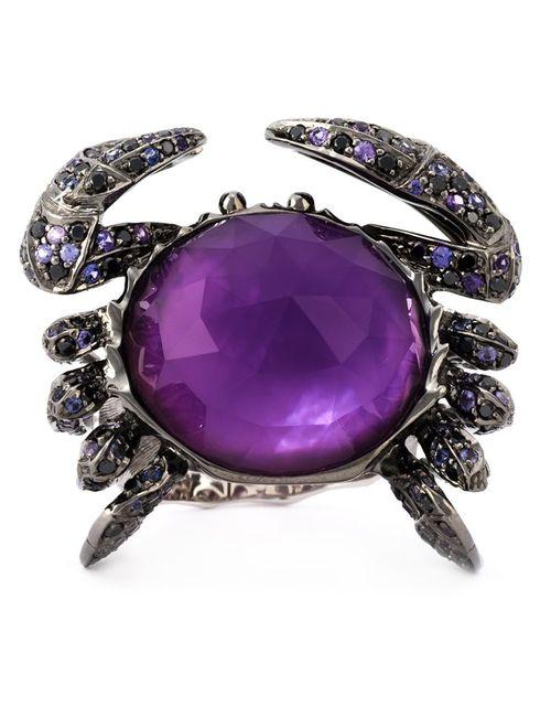 Stephen Webster | Женское Серебристый 18kt 1729gms Crab Crystal Haze Ring From
