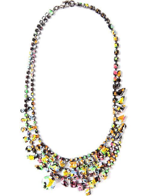 Tom Binns | Женское Многоцветный -Colour Swarovski Crystal Splash Out Layered Necklace