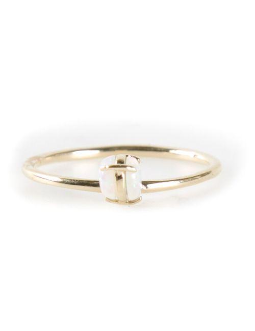 WWAKE | Женское Серебристый Solitaire Ring From