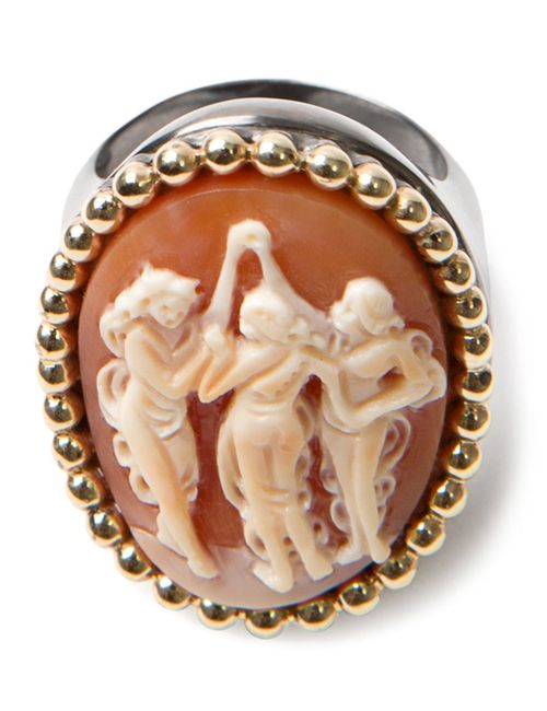 AMEDEO | Женское Коричневый And Sardonyx Carnelian Dancing Ladies Ring From