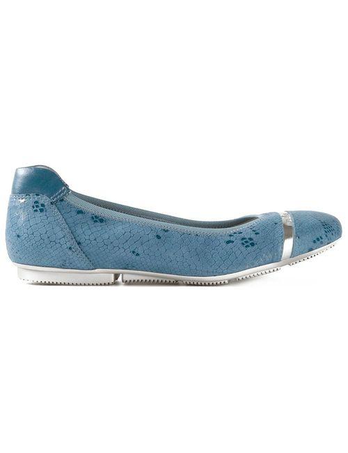 Hogan | Женские Синие Балетки Wrap-H144