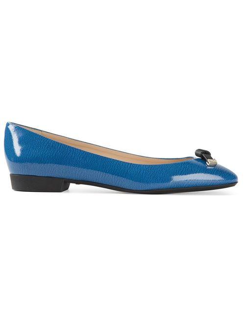 Emporio Armani | Женское Синий Tie Detail Ballerinas