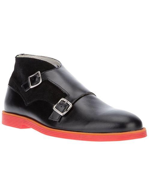Swear | Мужские Чёрные Ботинки Logan 12