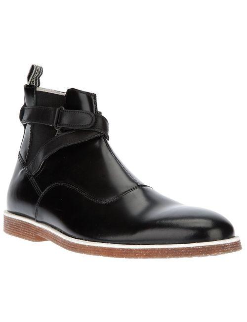 Swear | Мужские Чёрные Ботинки Logan 9 С Ремешком