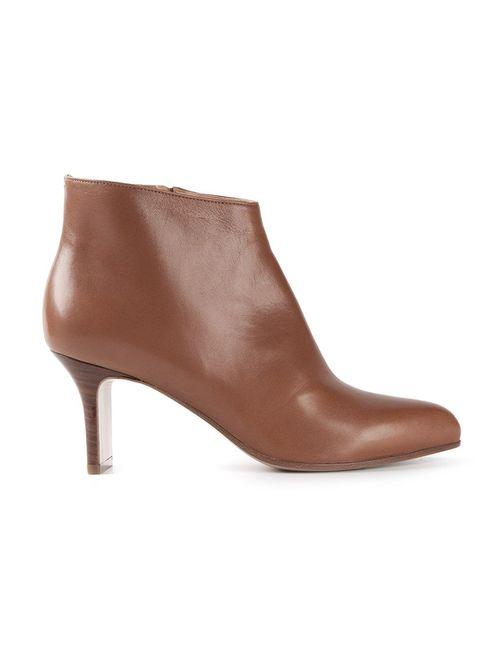 Maison Margiela | Женские Коричневые Ботинки На Шпильке