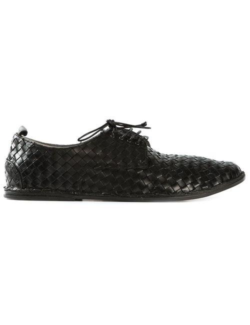Marsell | Мужские Чёрные Туфли-Дерби Strasacco