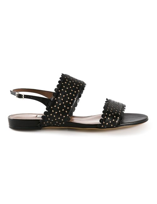 Tabitha Simmons | Женское Черный Leather Loopsey Sandals From