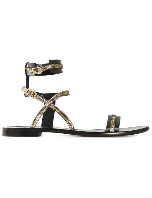 Lanvin | Женское Серебристый Strappy Sandals