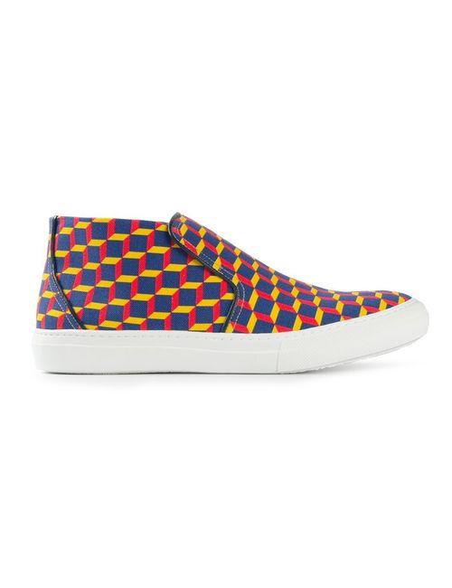 Pierre Hardy | Мужское Многоцветный Cube Slip-On Sneakers