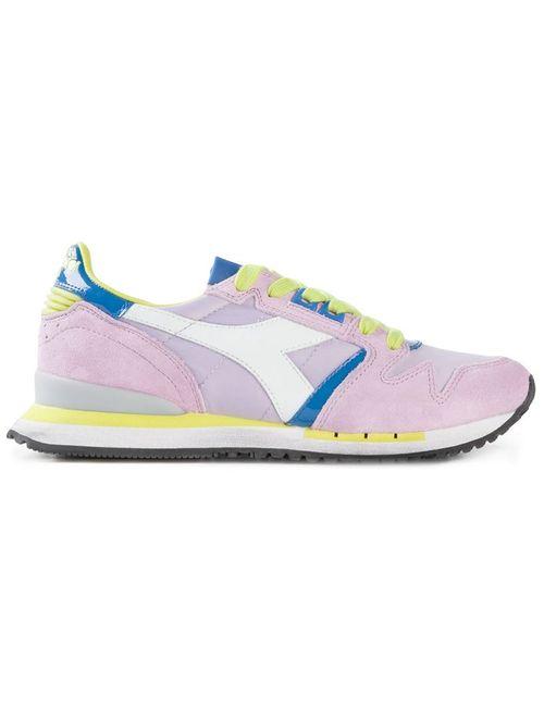Diadora | Женское Розовый Suede Exodus Sneakers From