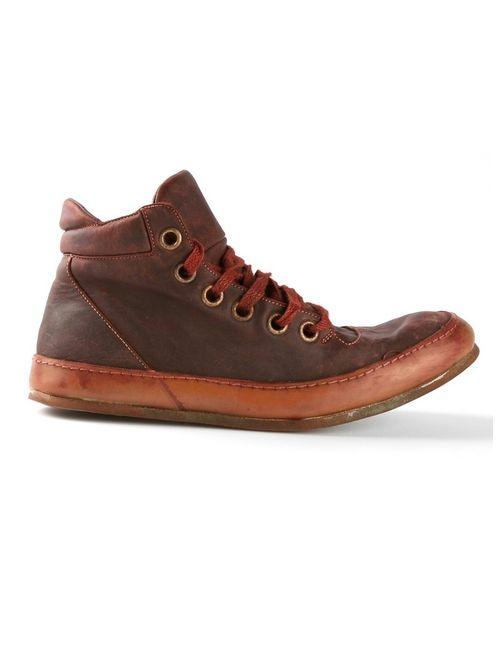 A DICIANNOVEVENTITRE | Мужские Красные Потёртые Ботинки