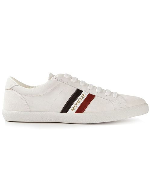 Moncler | Мужское Leather Montego Sneakers From Featuring A Round