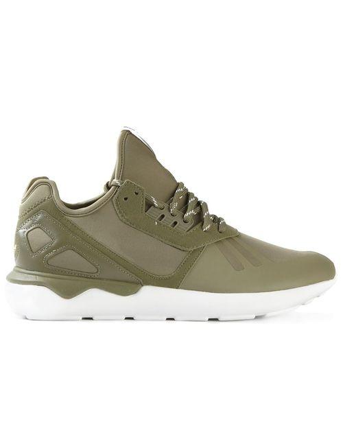 Adidas | Женские Зелёные Кроссовки Tubular