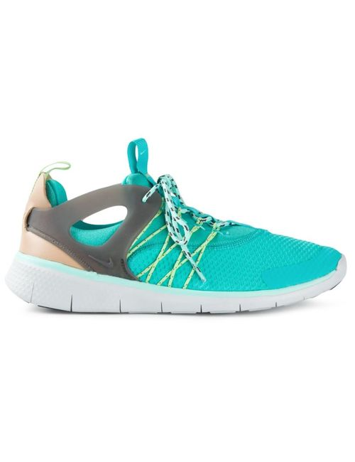 Nike   Женские Синие Кроссовки Flyknit