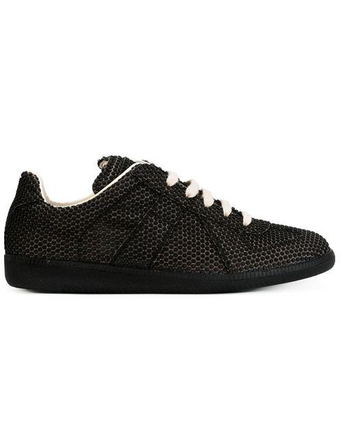 Maison Margiela | Мужское Чёрный Textured Sneakers