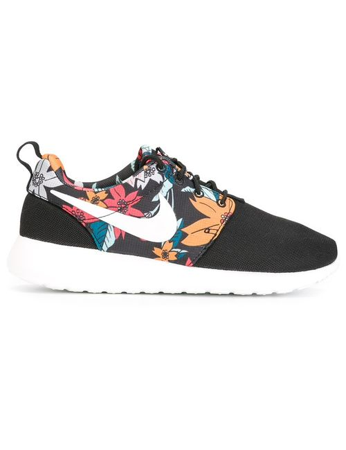 Nike | Женское Чёрный Roshe One Sneakers From Featuring A Round