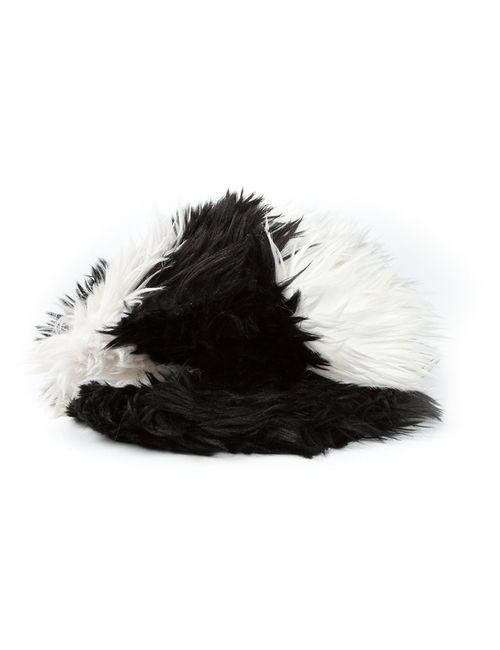 Chanel Vintage | Женская Чёрная Меховая Шапка