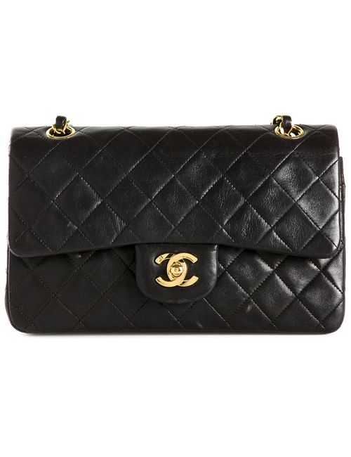 Chanel Vintage | Женская Черный Сумка 2.55 На Плечо