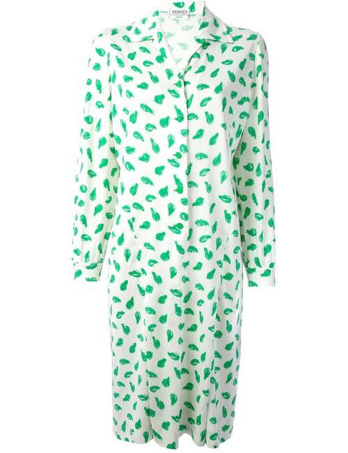 Hermès Vintage | Женское Белый Shirt Dress